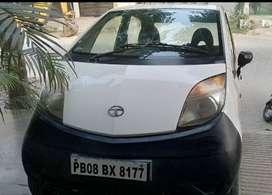 Tata Nano 2012 Model Less Driven in Good Condition for Sale
