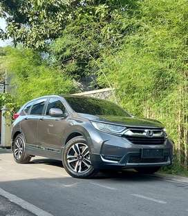 ALL NEW CRV 1.5 TURBO PRESTIGETahun : 2018, KM 20 ribuan,plat AD