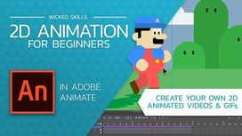 2D Animation Course in 2 Months