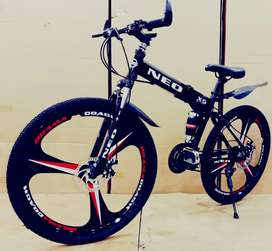 NEW FOLDABLE CYCLE WITH 21 GEARS AVAILABLE IN YOUR CITY