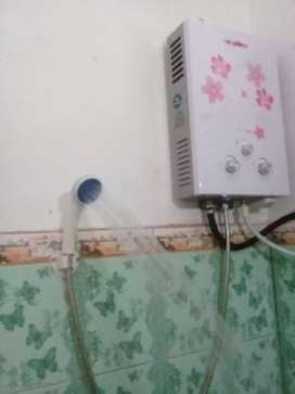 Pemanas Air ( Tanpa Listrik ) Water Heater Gas