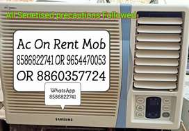 Ac On Rent with All Senetised precautions Followed