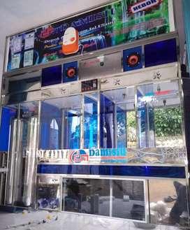 Damisiu ahli pemasangan depot air minum khusus stainlees