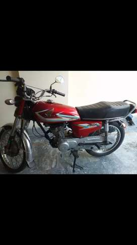 Honda 125, 2016 model for sale