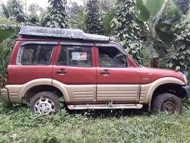 2004 model mahindra scorpio body for sale