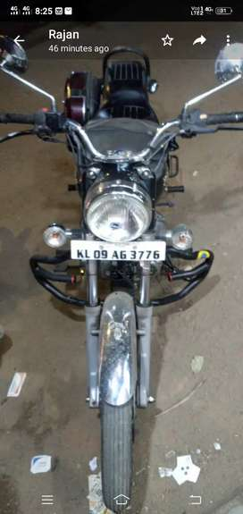 Royal Enfield well maintained