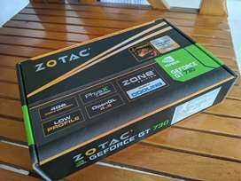 ZOTAC NVIDIA GeForce GT 730 Zone Edition 4 GB DDR3 Graphics Card