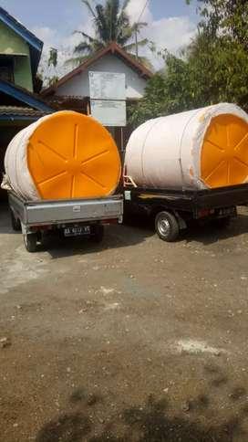 Tandon tebal bahan plastik pvc toren 5000 liter