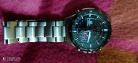 Casio edific Chronograph Watch