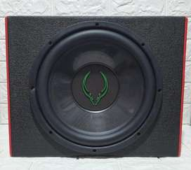 BIG PROMO.Paket Subwoofer Green Bulll plus box. Harga SPECIAL!! murah