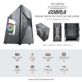 Casing Infinity Cobra Acrylic Side Panel ATX Case