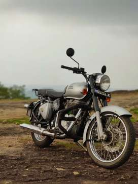 Royal Enfield classic 350 Silver 2017 BSlll
