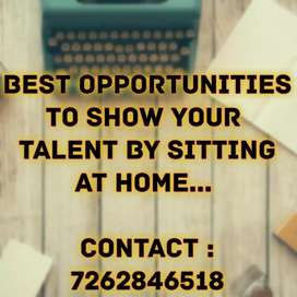 House wife working person candidates required...