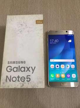 Samsung Galaxy Note 5 Dual sim Sein Lengkap Normal
