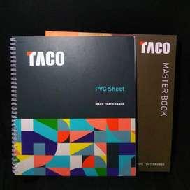 Catalog Masterbook + PVC Sheet TACO 2021