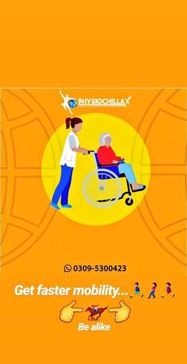 PHYSIOTHERAPY only for ladies and children