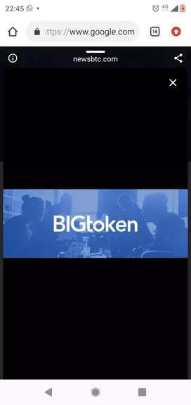 Bigtoken earning App