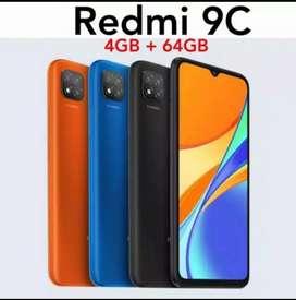 PROMO XIOMI REDMI 9C 4/64 GB GARANSI RESMI