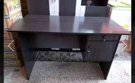 Meja tulis kantor/ kasir warna hitam