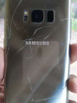 S8 Screen front and back broken