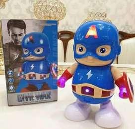 Robot dance kapten amerika