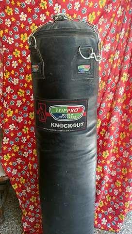 Gym punching bag