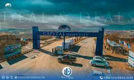 Book your plots in Capital Smart City on Installments
