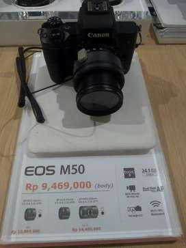 Canon EOS M50 BODY ONLY Promo 0%