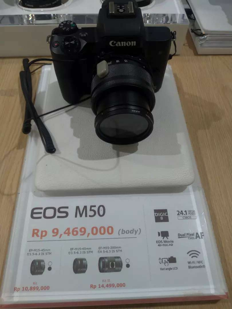 Canon EOS M50 BODY ONLY Promo 0% 0