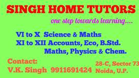 Online and offline home tuition available