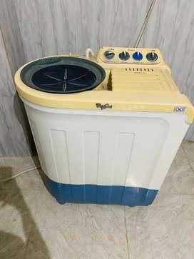 Whirlpool washing machine, semi automatic