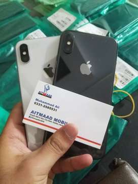 Iphone X 256gb Pta approved usa stock 10/10 condition