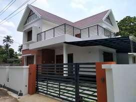 thrissur nellikune 7 cent 4 bhk posh teak wood new villa