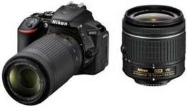 Nikon d5600 brand new condition with two lenses