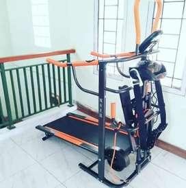 Treadmill manual gf 8003// free kirim