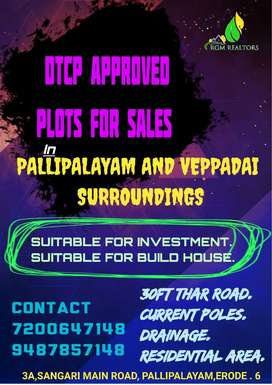 DTCP APPROVED LAND FOR SALES.