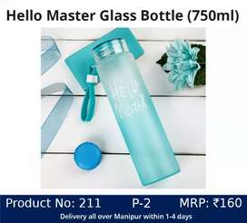 Hello Master Glass Bottle ( 750ml)