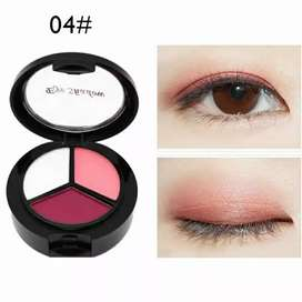 Eyeshadow Palet Tahan Lama 3 Warna
