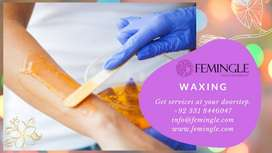 Waxing services at your home Book now Femingle