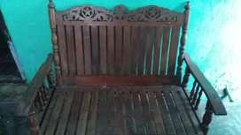 Sofa set (take wood )