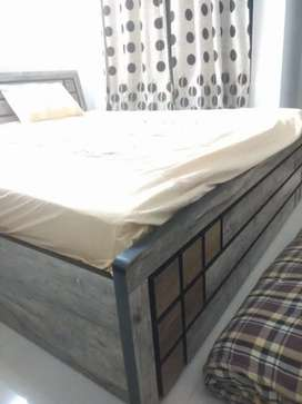 King Size Bed 6x6.5 with wafefit mattresses