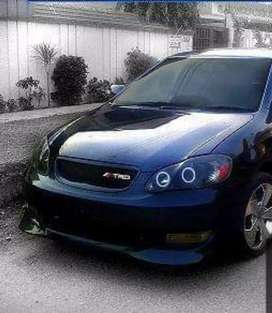 Toyota Corolla Bodykit complete available 2002-2008