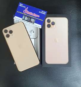 Iphone 11 pro 256gb gold warranty till oct 2021 with 1 yr reliance EW.