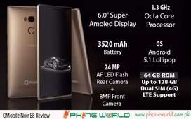E8 3/64GB 6'Super AMOLED PPi490