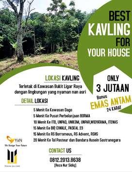 RUGI KALAU GA BELI SEKARANG   Tanah 3 Juta dapat panorama Kota Bandung