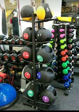 Jual alat fitness murah Dumbell vinil import