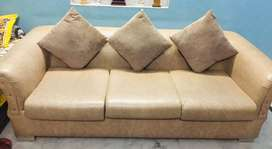 5 sitter sofa set with cushions