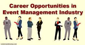 Event Management jobs- Part Time/ full time jobs