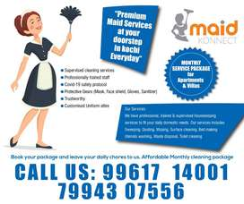 MAID KONNECT- Cleaning / Housekeeping Packages for Apts/Villas - KOCHI