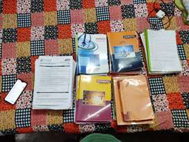 Jee mains and cbse class 11 and 12 notes and books in good condition